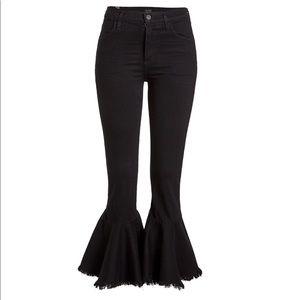 NWOT COH black flare jeans